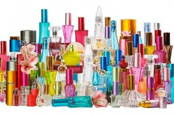 В парфюмерии