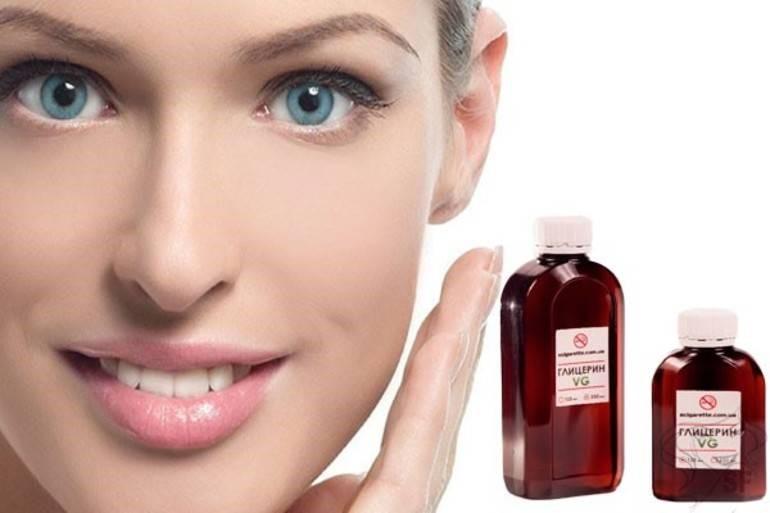 Применение глицерина для ухода за кожей